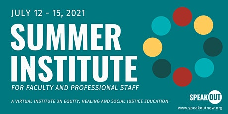 SpeakOut Summer Institute 2021 tickets
