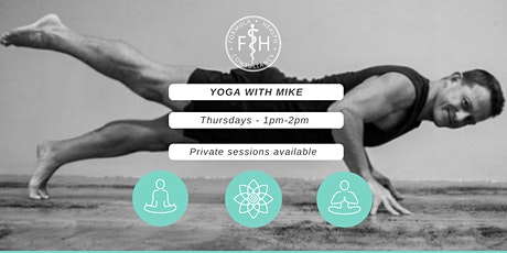 Yoga with Mike @ FH Garden Studio - Thursdays  @ 1pm tickets