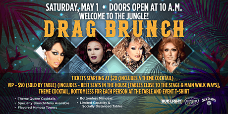 Drag Brunch: Welcome to the Jungle tickets