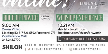 Shiloh's Sunday 10:21am Worship Experience tickets