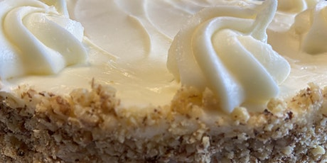 Annie's Signature Sweets Virtual Carrot cake baking class tickets