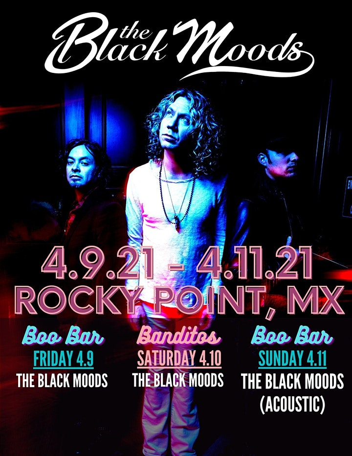 The Black Moods at Boo Bar (electric) image