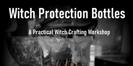 Making a Witch's Protection Bottle tickets