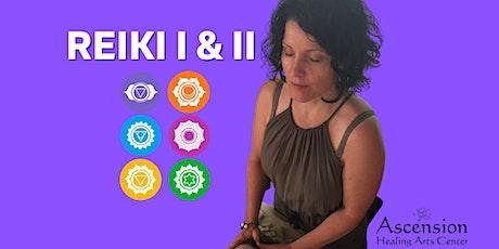 Reiki I & II tickets