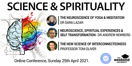 Science and Spirituality - Online Conference tickets