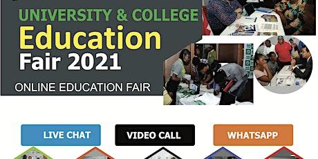 Tunisia International Virtual Education Fair 2021 online tickets