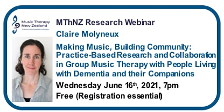 Music Therapy Webinar: Claire Molyneux tickets