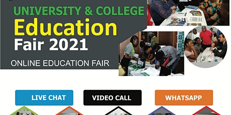 South Africa International Virtual Education Fair 2021 online tickets