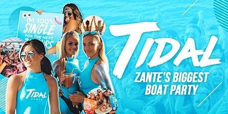 Zante Boat Party - Tidal Boat Party tickets