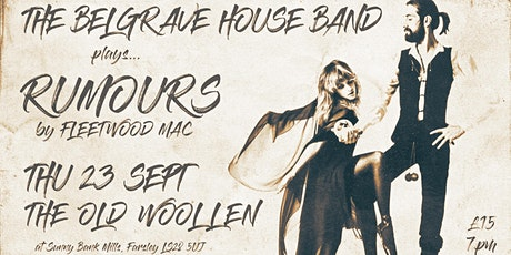 The Belgrave House Band plays Fleetwood Mac's RUMOURS tickets