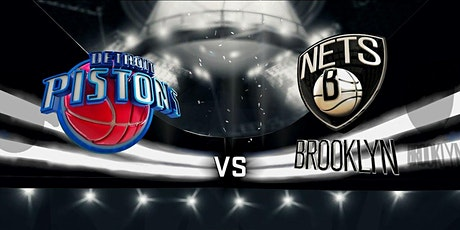 StrEams@!. Detroit Pistons v Brooklyn Nets LIVE ON NBA 2021 tickets
