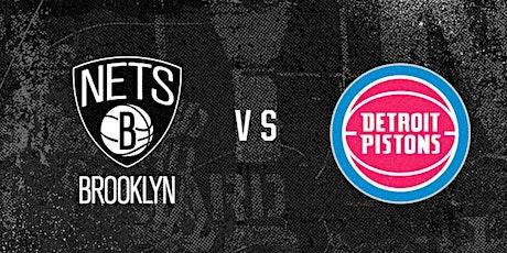ONLINE@!. Detroit Pistons v Brooklyn Nets LIVE ON NBA 2021 tickets