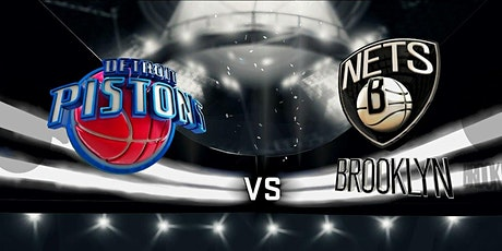 NBA@!. Detroit Pistons v Brooklyn Nets LIVE ON NBA 2021 tickets
