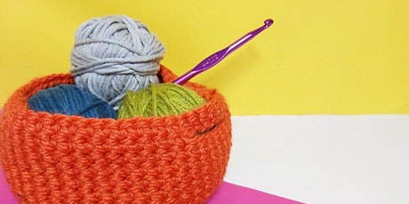 Beginners Crochet Workshop - Crocheting Baskets tickets