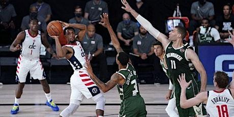LIVE@!!..@ Milwaukee Bucks v Washington Wizards LIVE ON NBA 2021 tickets