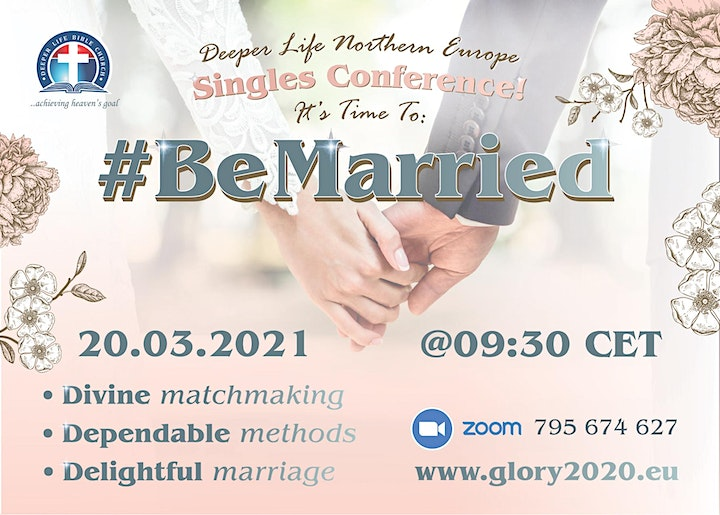 #BeMarried - Northern European Singles' Conference 2021 image