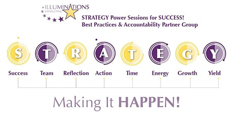 Strategy Power Sessions for SUCCESS! tickets
