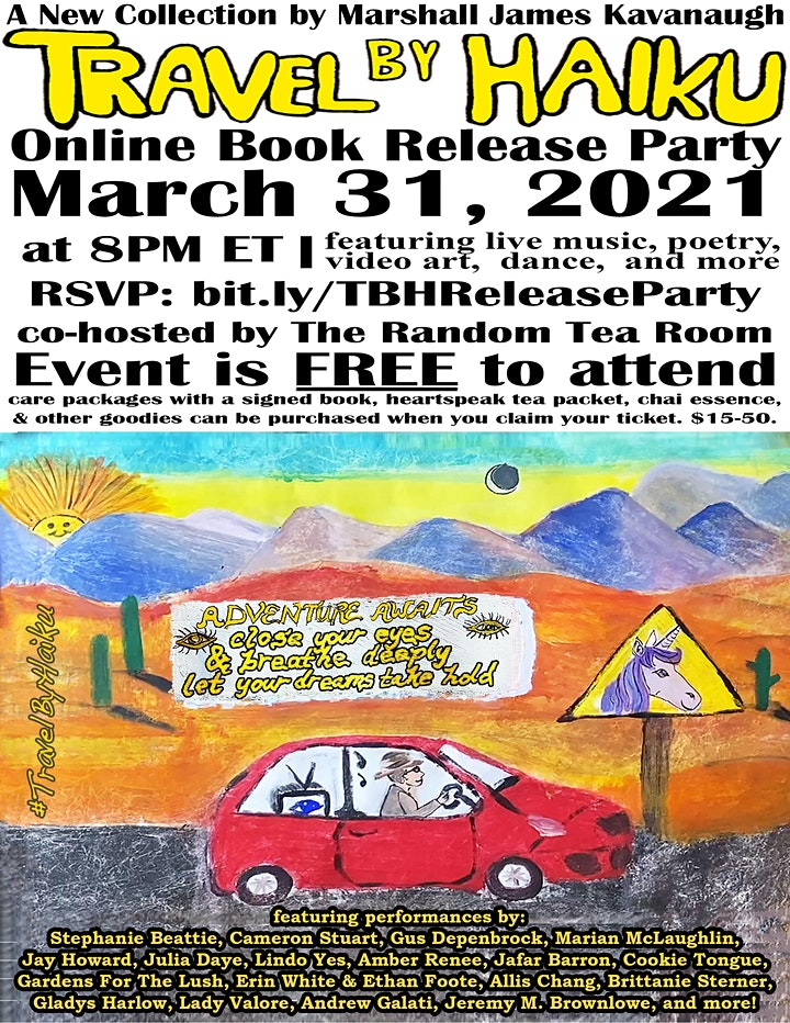 Travel By Haiku - Online Release Party image