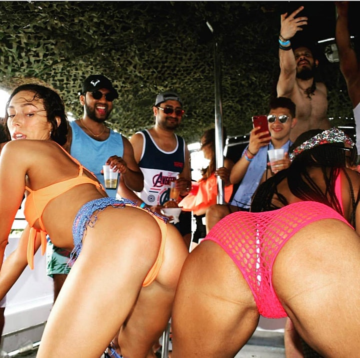 #SPRING BREAK BOAT PARTY #miami image