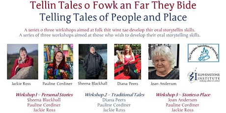 Stories of Place Workshop -  Tellin Tales o Fowk an Far They Bide 3 of 3 tickets