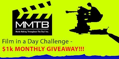 SANTA ROSA-'Film n a Day' Actors/Directors Challenge- $1,000 Giveaway tickets