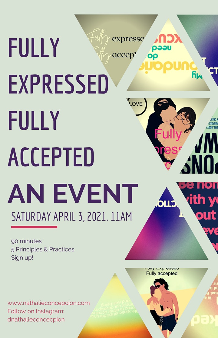 Fully Expressed & Fully Accepted: An Event image
