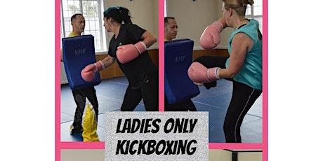 Ladies Only Kickboxing (13yrs+) Sun AM, Sun evening tickets