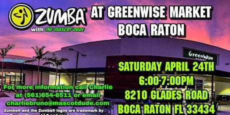 Zumba®️ At GreenWise Market Boca Raton tickets