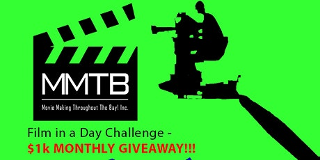OAKLND-'Film n a Day' Actors & Directors Challenge/Potluck- $1,000 Giveaway tickets
