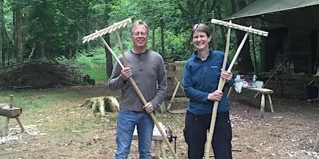 RakeMaking - Green Woodworking Course - June tickets