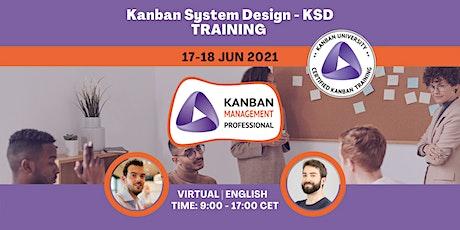 Kanban System Design (KSD) Certified Online Training Tickets