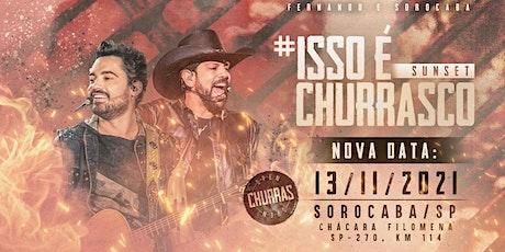 ISSO É CHURRASCO - SUNSET ingressos