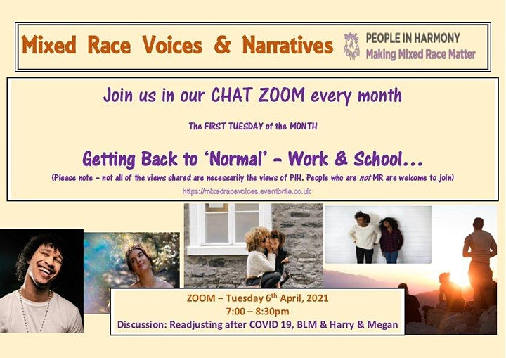 Mixed Race Voices  & Narratives image
