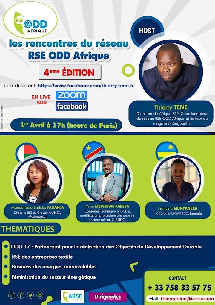 Image pour Webinaire du réseau RSE ODD Afrique : ODD 17, ENR et RSE entreprise textile