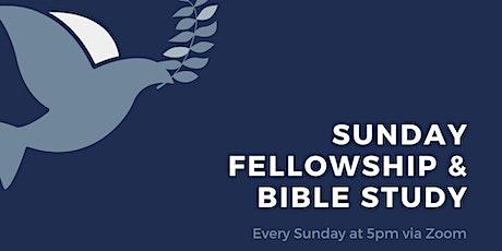 Sunday Fellowship & Bible Study tickets