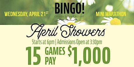 4/21/21 Bingo Mini Marathon Presale (April Showers) tickets
