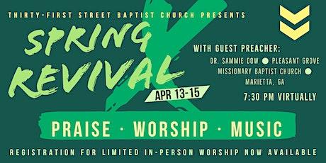 Spring Revival tickets