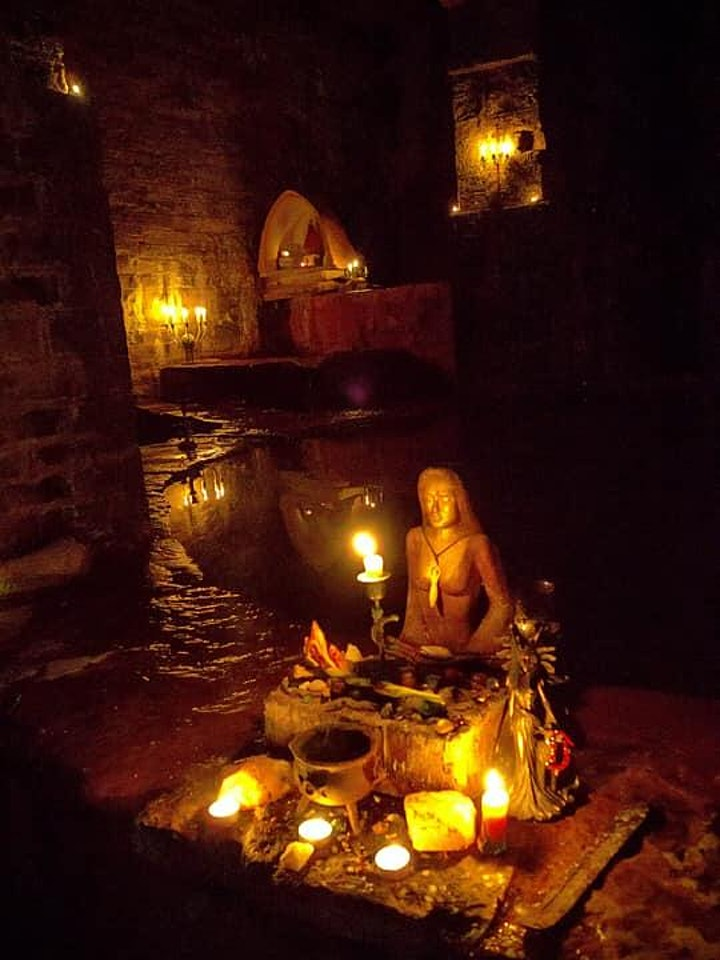 CANCELLED ! WITCH SCHOOL:  A Mystical Mansion Retreat & Esoteric Training image