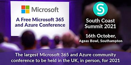 South Coast Summit 2021 - Data and AI Workshop tickets