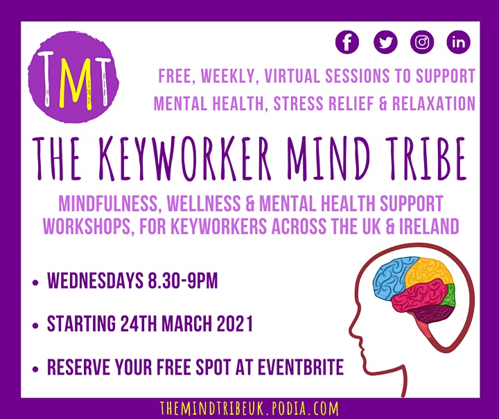 The Keyworker Mind Tribe (Mindfulness & Relaxation for Keyworkers) image