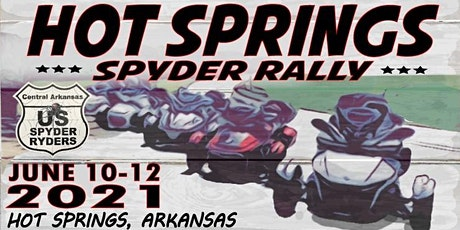 2021 Hot Springs Spyder Rally tickets