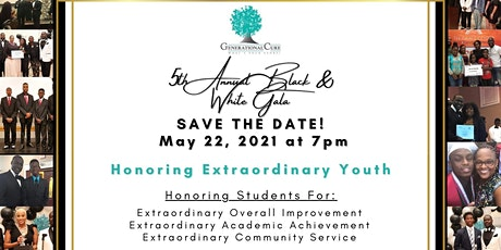 "5th annual Black and White Gala ""Honoring Extraordinary Youth."" tickets"