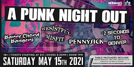 A PUNK NIGHT OUT tickets