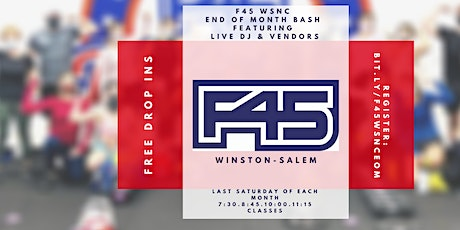 F45 TRAINING WSNC END OF MONTH BASH tickets