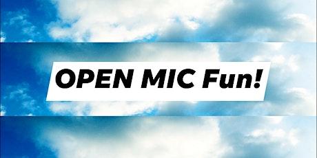 "MIXER: ""Icebreaker"" + Open Mic (+ Creative Self-Expression)! tickets"