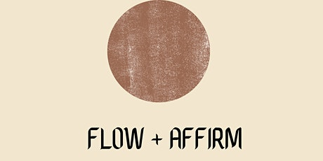 Flow & Affirm Full Moon Yoga tickets