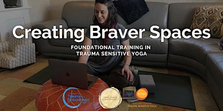Foundational Training in Trauma Center-Trauma Sensitive Yoga tickets