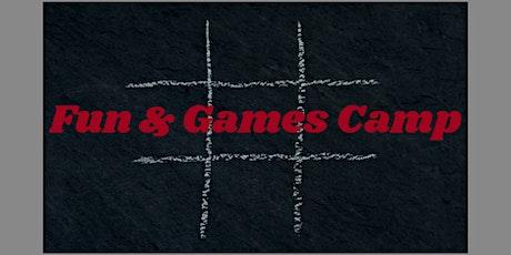 Fun & Games- 3 Day Summer Camp tickets