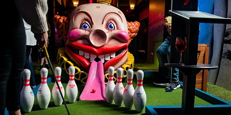 Play mini-golf with Fresh Docklands tickets