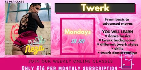 TWERK Mondays! with Neza tickets